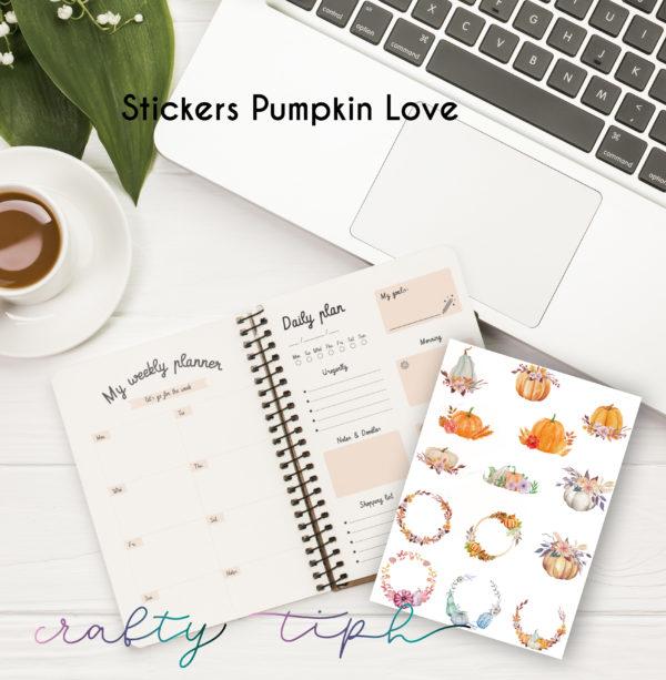 stickers agendas automne
